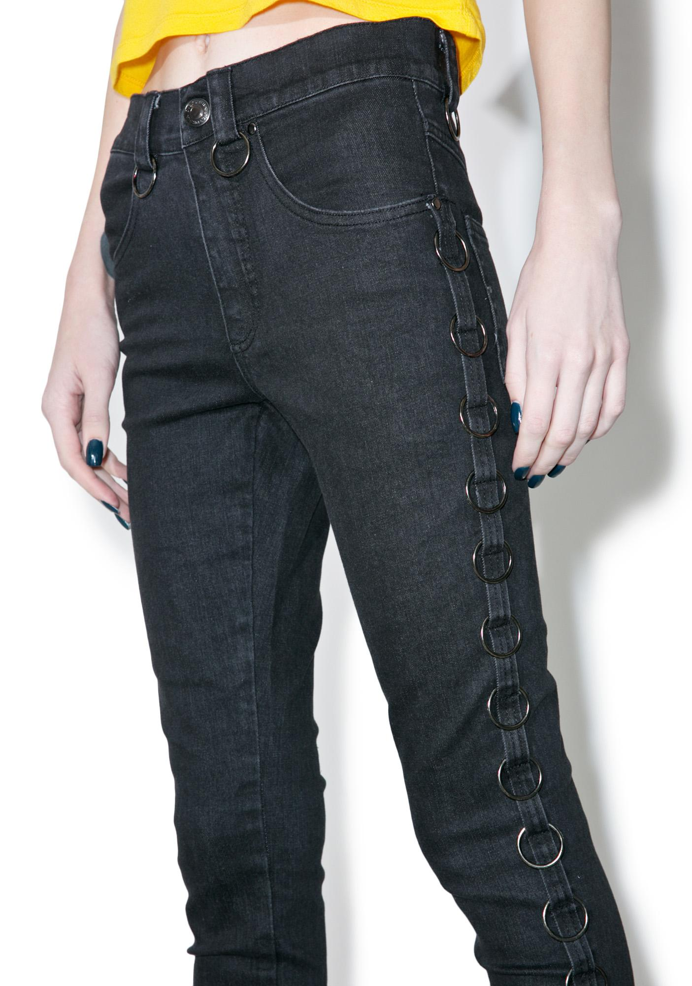 Denim - Anneau Pantalon Denim Yk2o5