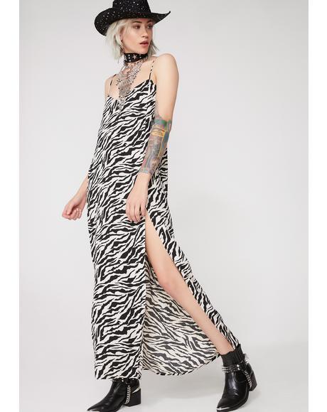 Zebra Batis Dress