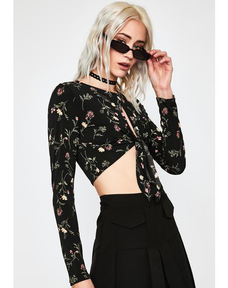 Punk Posie Floral Top
