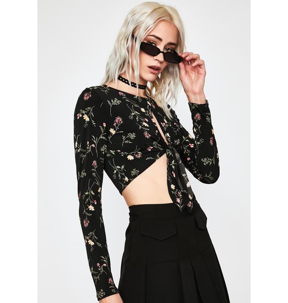 Punk Posie Floral Top