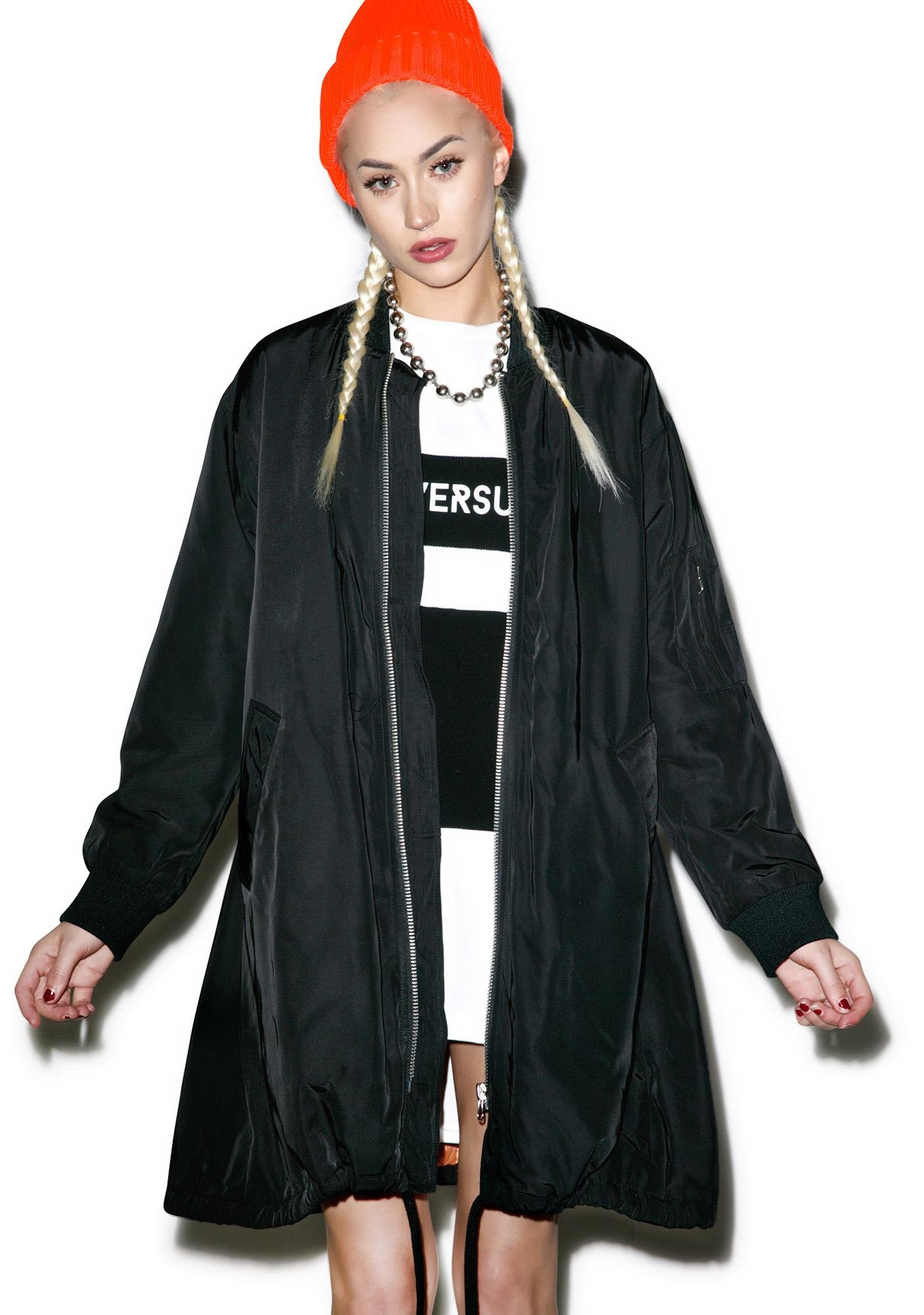 Total H8 Long Bomber Jacket