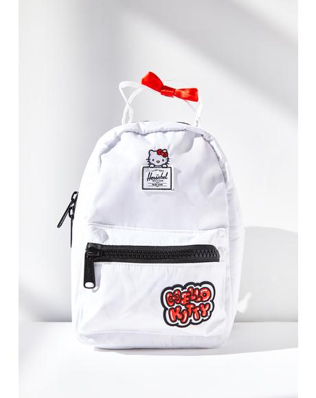 X Hello Kitty Satin Mini Backpack
