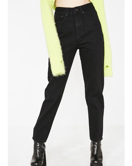 LO Black Jeans