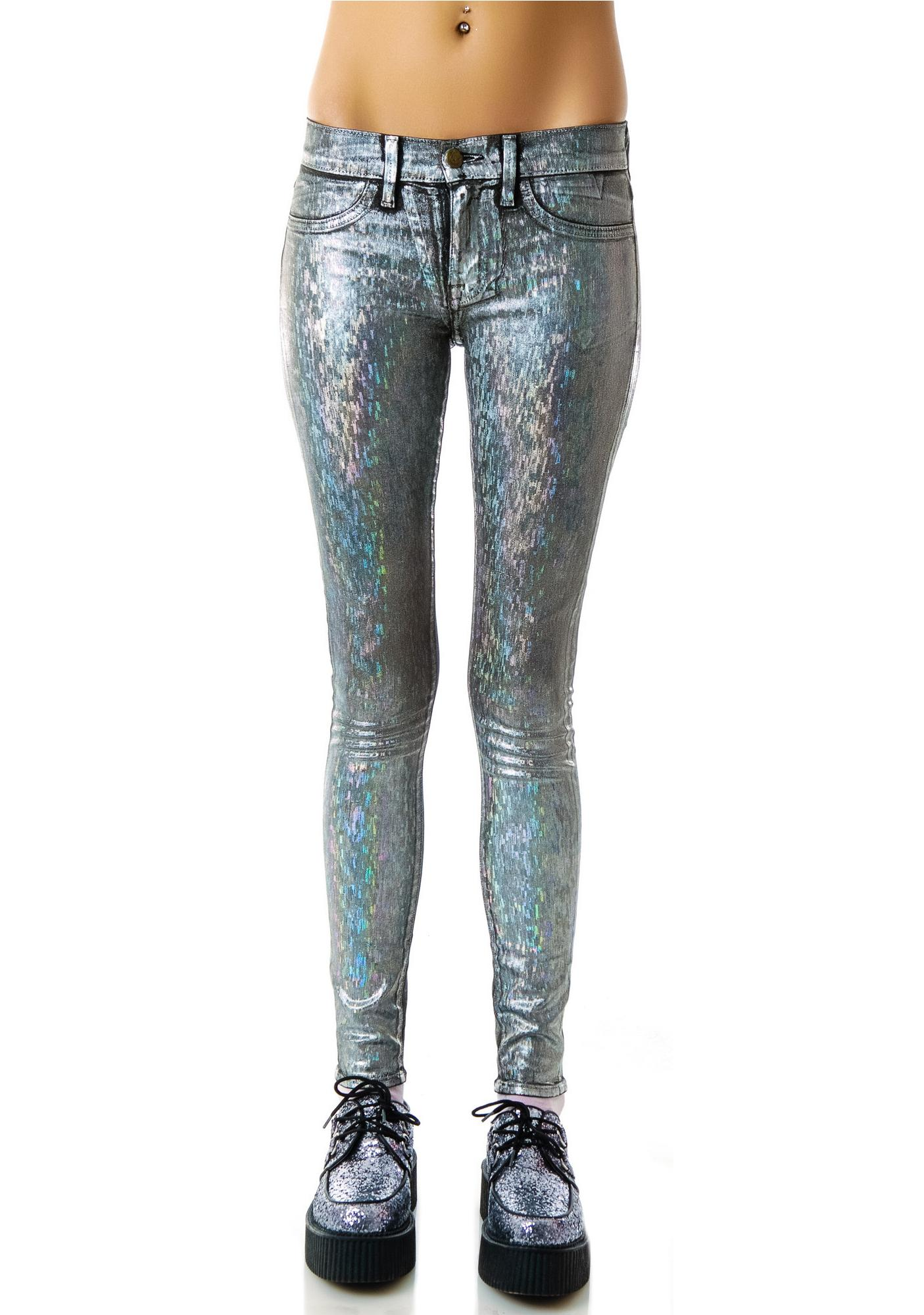 Wildfox Couture Wind Chimes Marianne Skinny Jeans