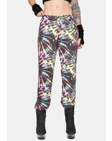 Trip Vision Tie Dye Sweatpants
