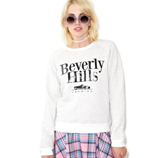Joyrich Beverly Hills Shop Crew Neck Sweater