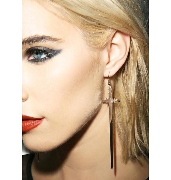 Killstar Sword Earrings
