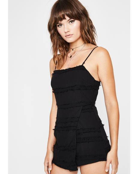 I Got Trouble Cami Romper