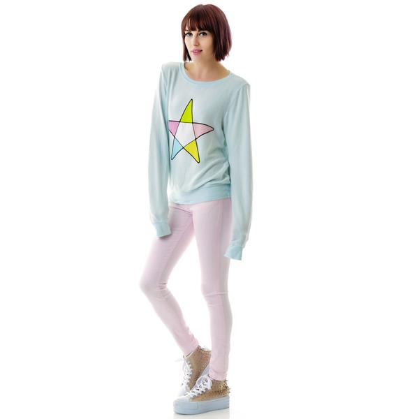 Wildfox Couture Ice Witch Baggy Beach Jumper