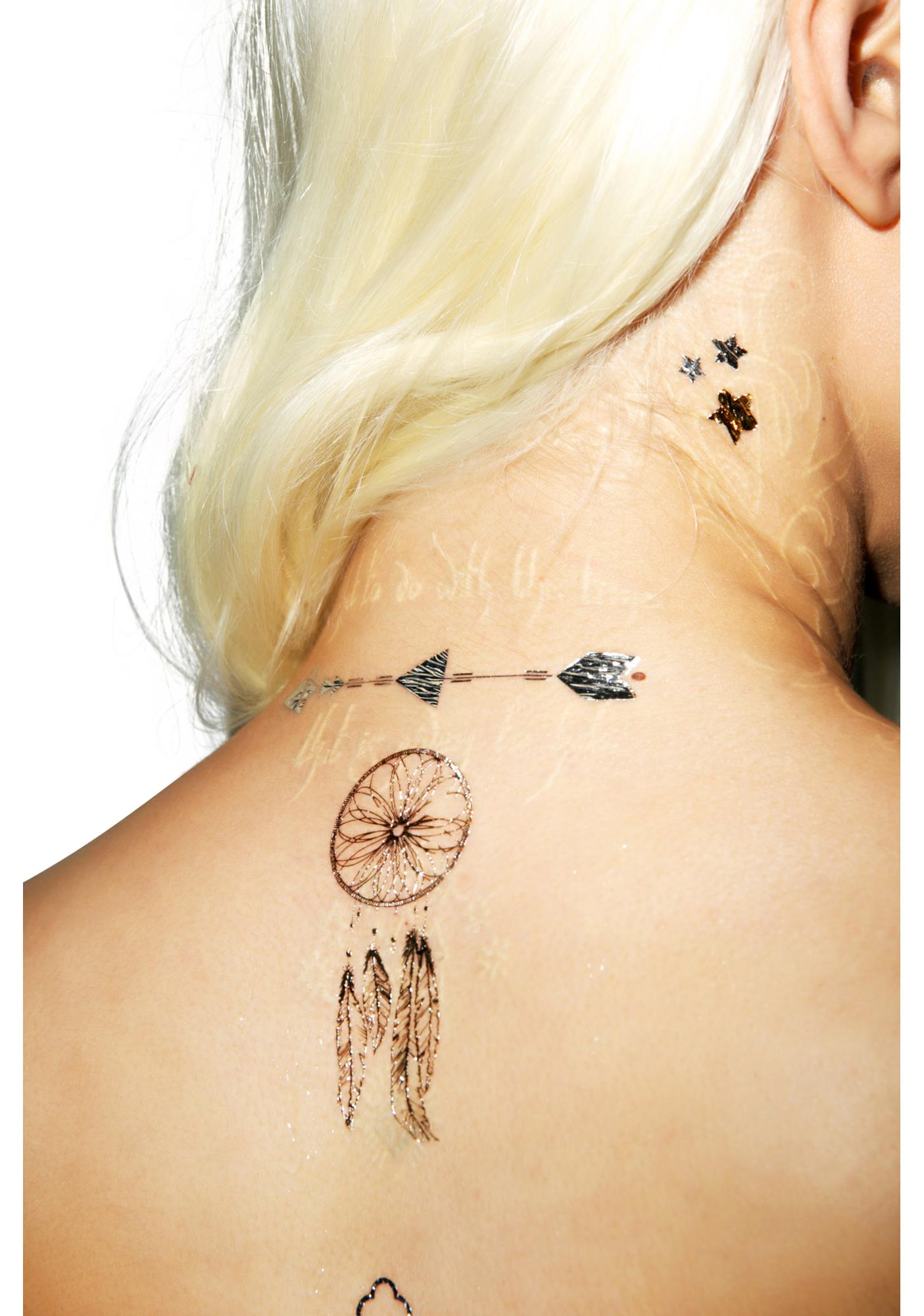 Dream Lover Temp Tattoo Set