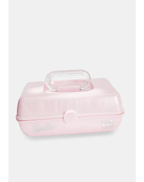 Barbie Pink Shimmer Caboodle