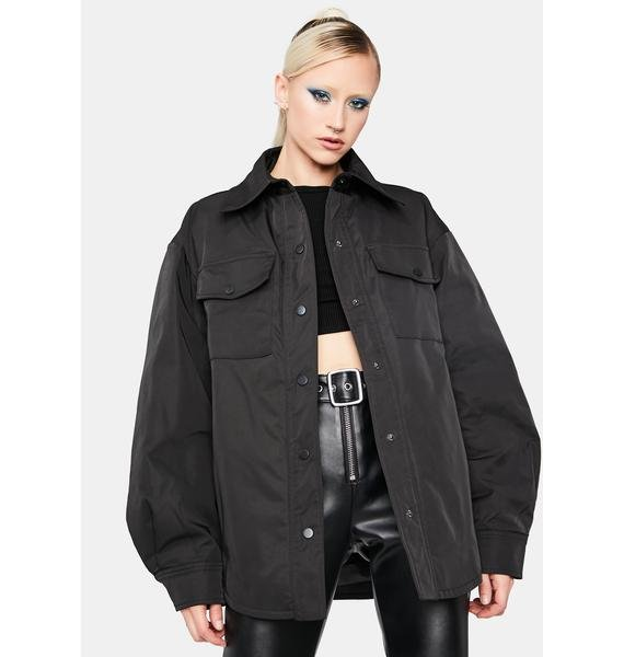 Dope Girl Oversized Shacket