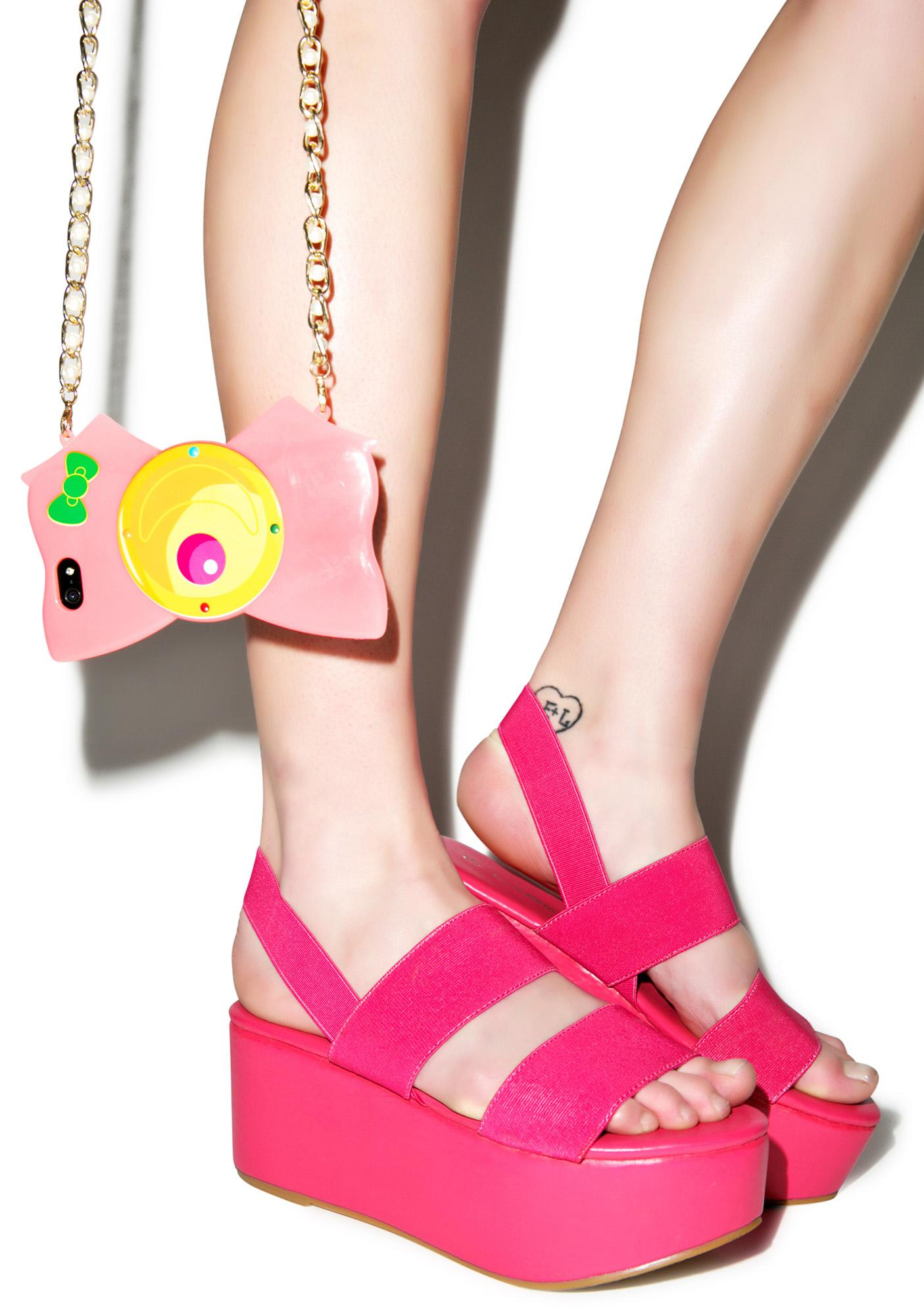 Dashin' Dashia Platform Sandals