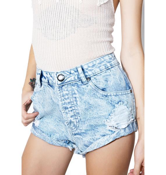 Dazed Distressed Shorts