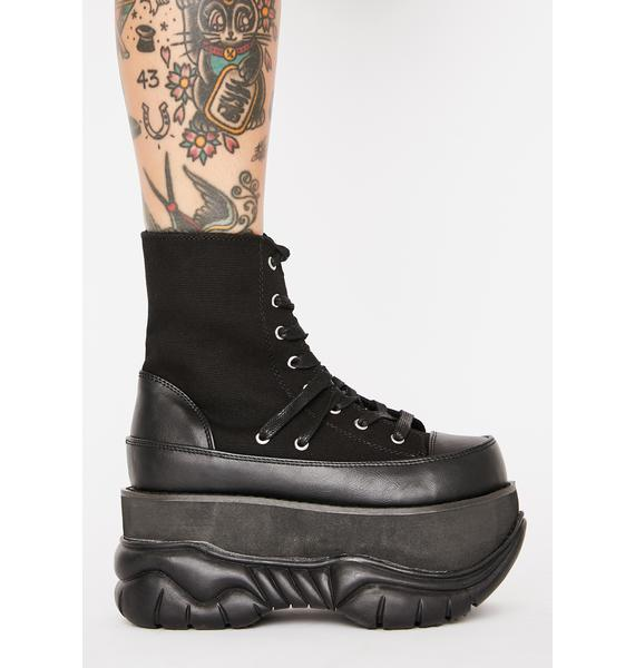 Demonia Moon Bouncer Platform Boots