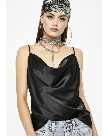 Intoxicating Luv Satin Top