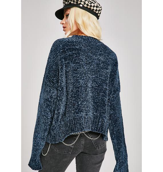 Let'z Kick It Knit Sweater