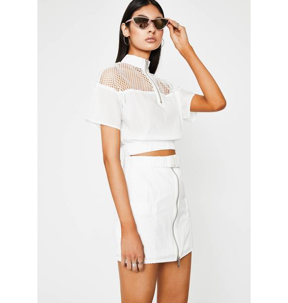 Iced Put Me In Coach Skirt Set