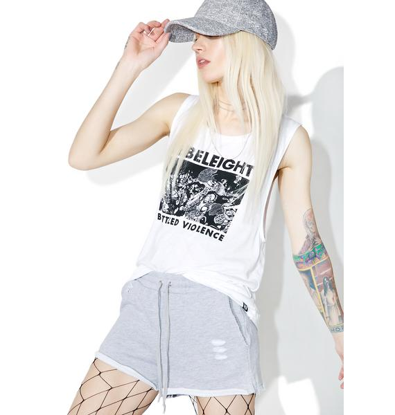 The Limit Distressed Shorts