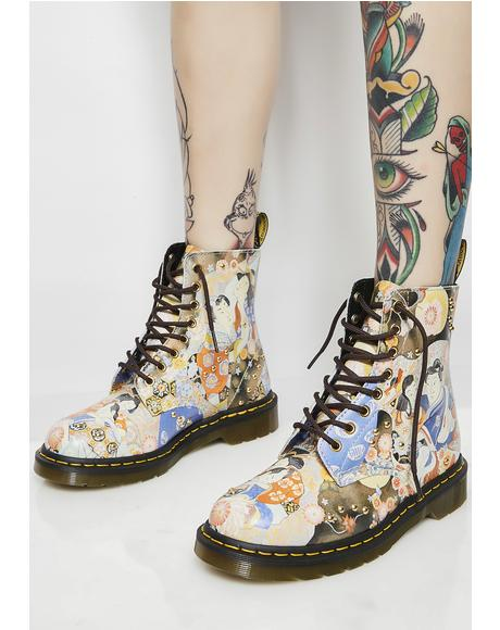 Pascal Eastern Art Boots