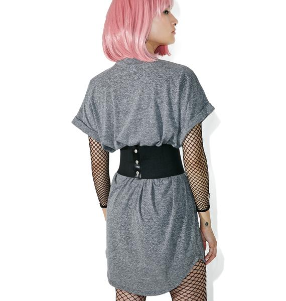 Back Alley Babe T-Shirt Dress