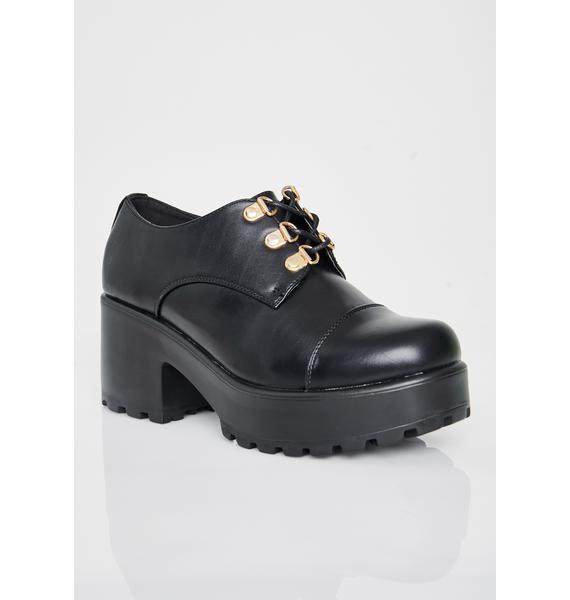 Koi Footwear Rhun Chunky Oxfords