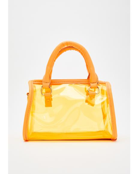 Juiced Petty Princess Clear Handbag
