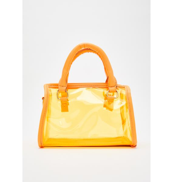Juiced Petty Princess Clear Handbag