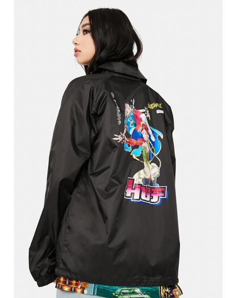 Chun-Li And Cammy Coach Jacket