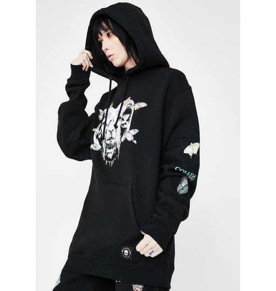 Flying Coffin Insecta Graphic Hoodie