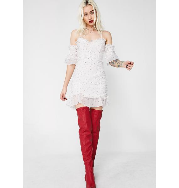 For Love & Lemons La Brooke Cocktail Dress