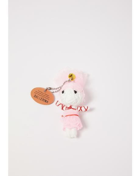 Ballerina Voodoo Doll