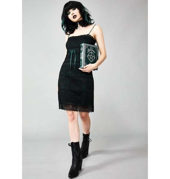Widow Lonely In Lust Lace Dress