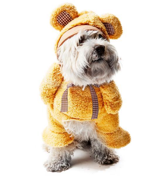 Cuddly Teddy Dog Costume