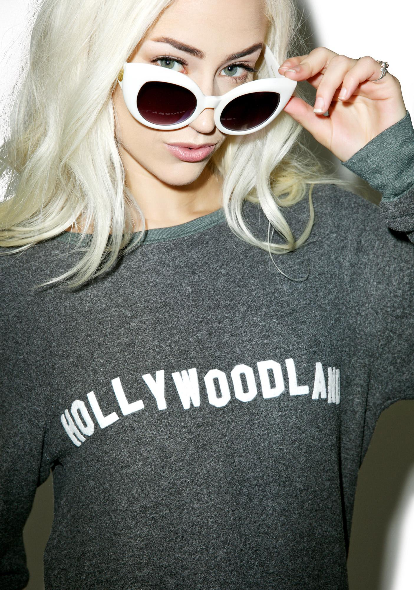 Wildfox Couture Hollywoodland Baggy Beach Jumper
