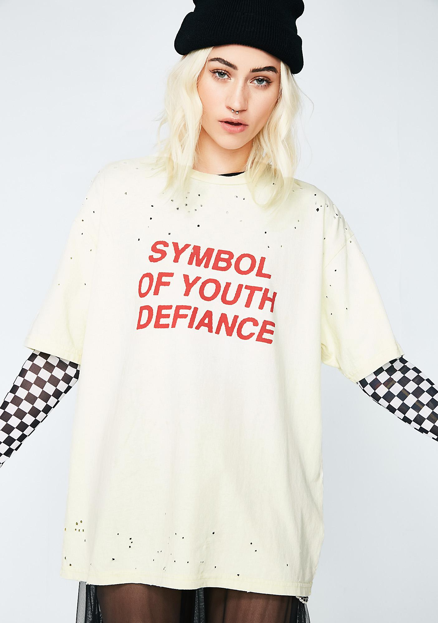 Insight Symbol Of Youth Defiance Tee