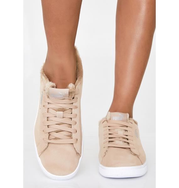 PUMA Vikky V2 Fuzzy Sneakers