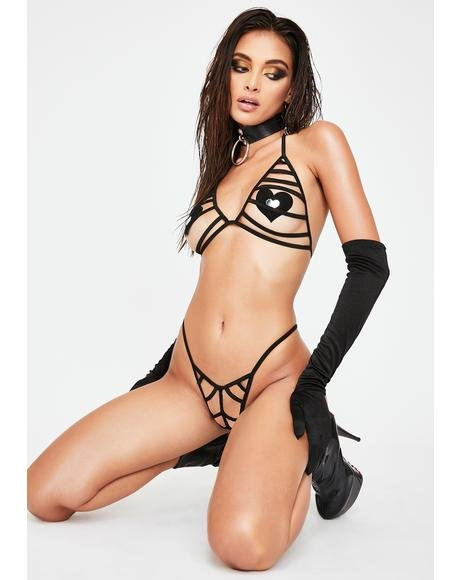 Lust N' Lavish Lingerie Set