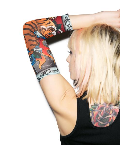 Le Tigre Tattoo Sleeves