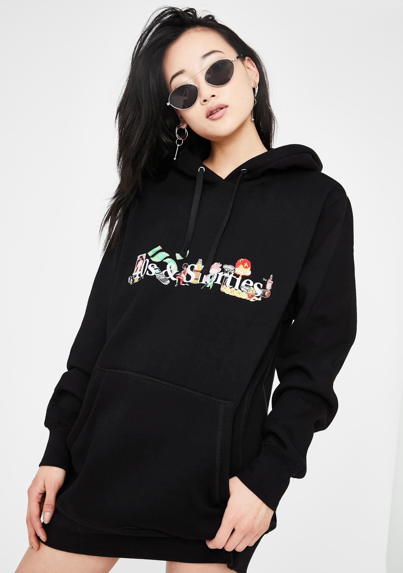 40s & Shorties Life Graphic Hoodie
