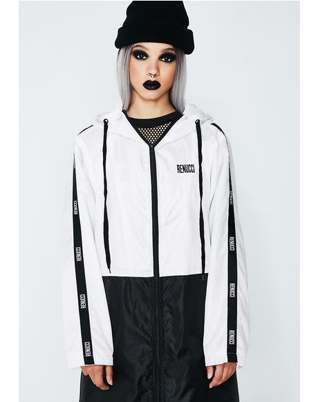 Oversized Windbreaker