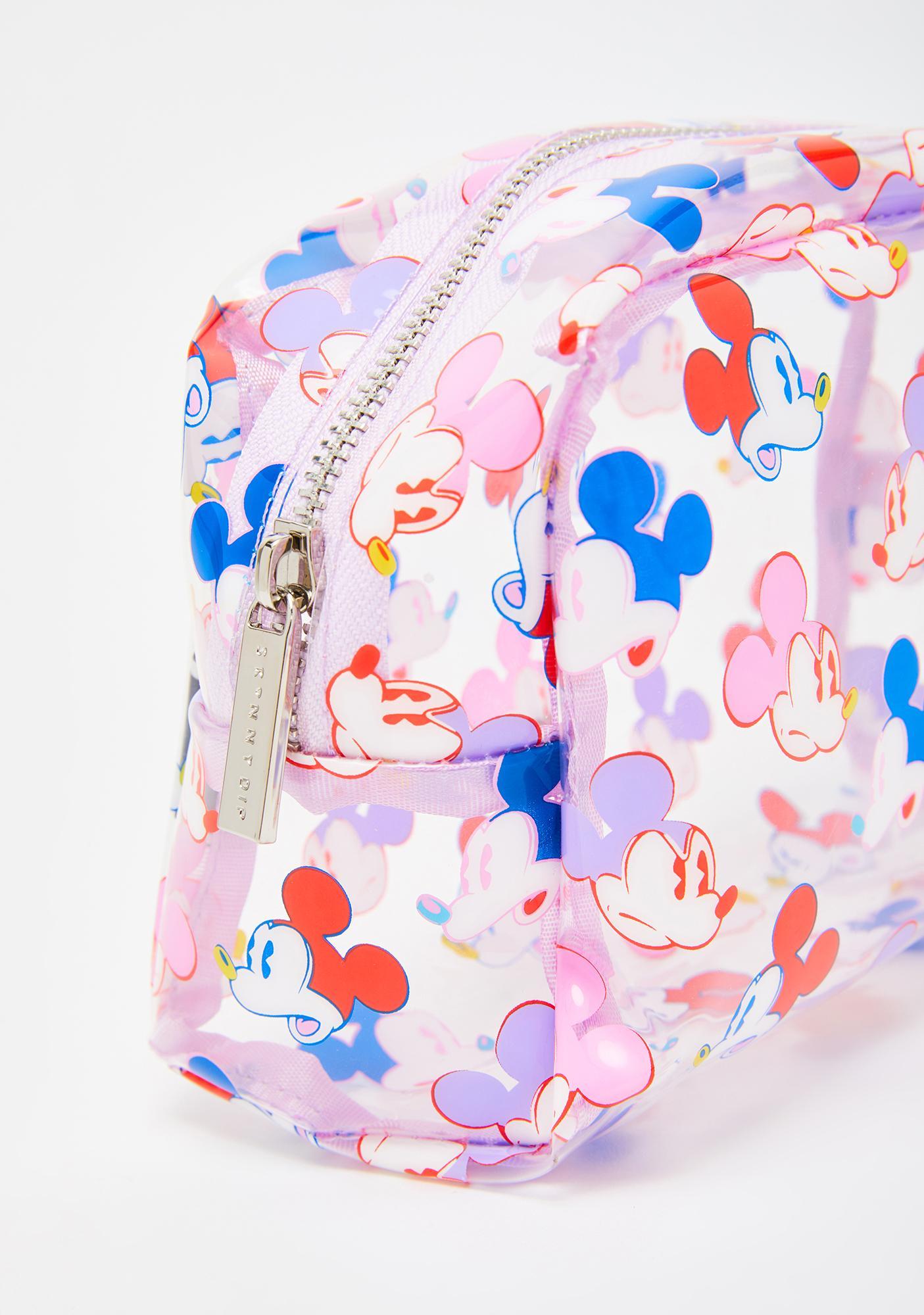 Skinnydip x Disney Mickey Face Makeup Bag
