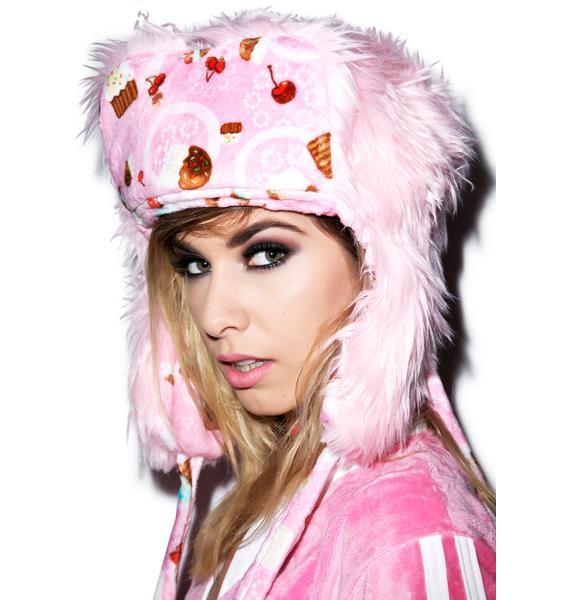 J Valentine Cupcake Treat Hat
