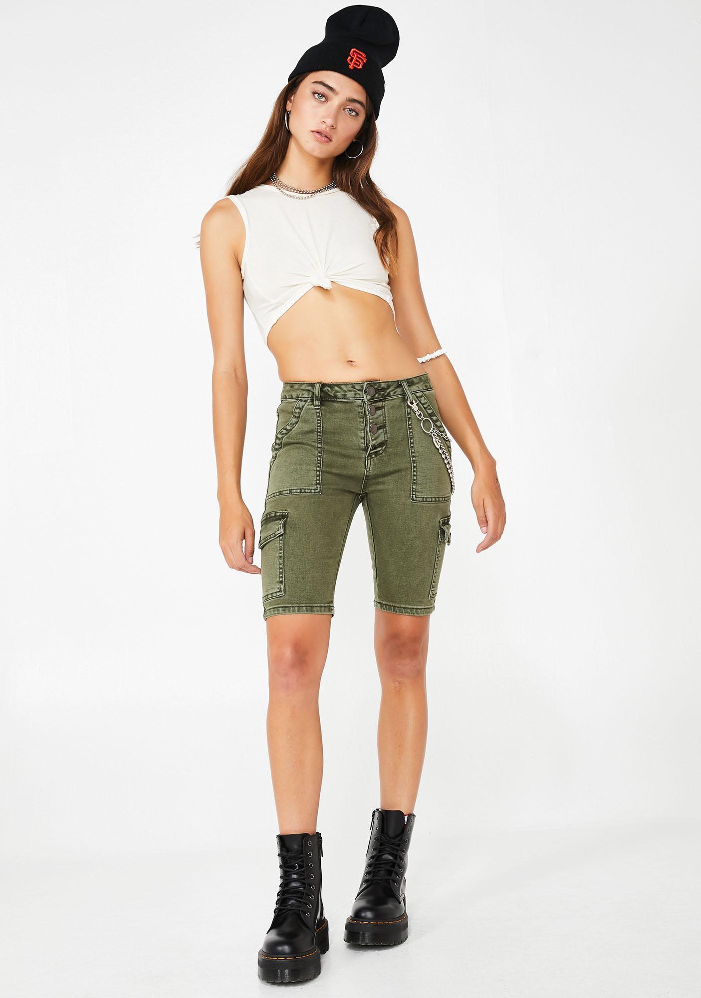 Operation Baddie Bermuda Shorts