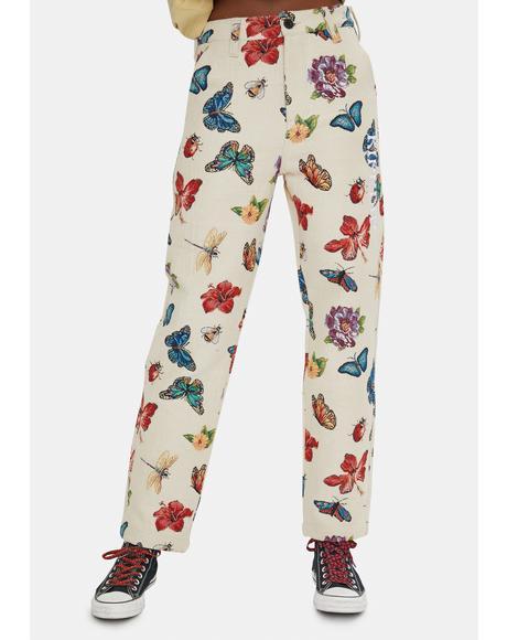 Monarch Printed Pants