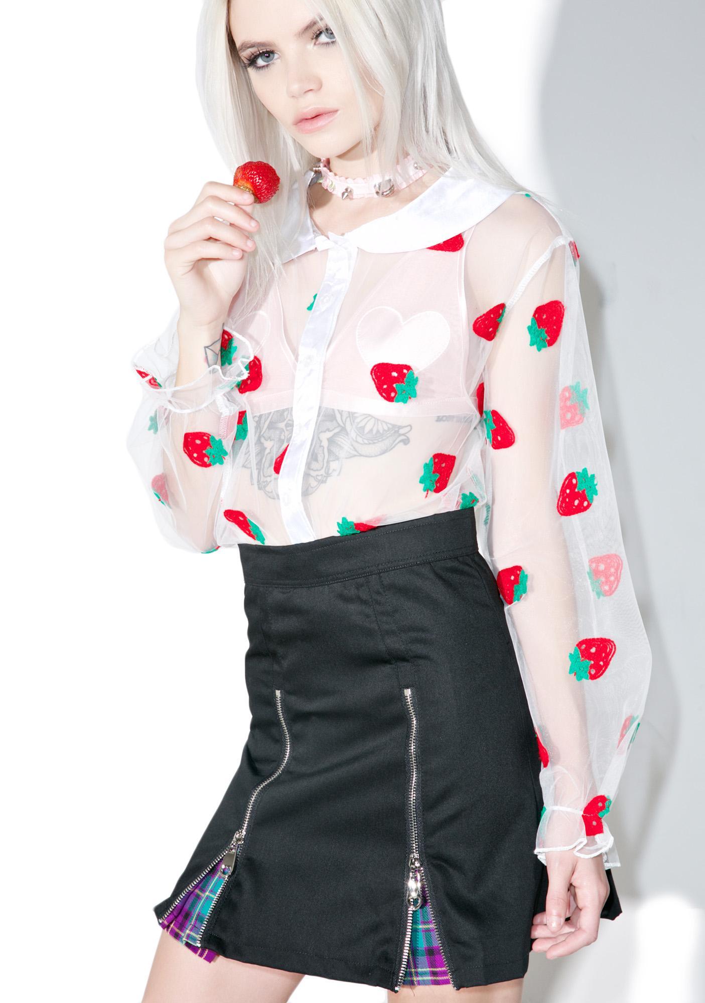 Blouse Strawberry 26