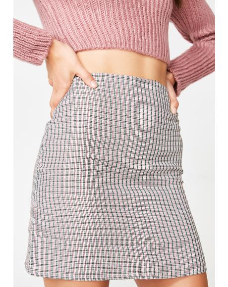 Overdue Fees Mini Skirt