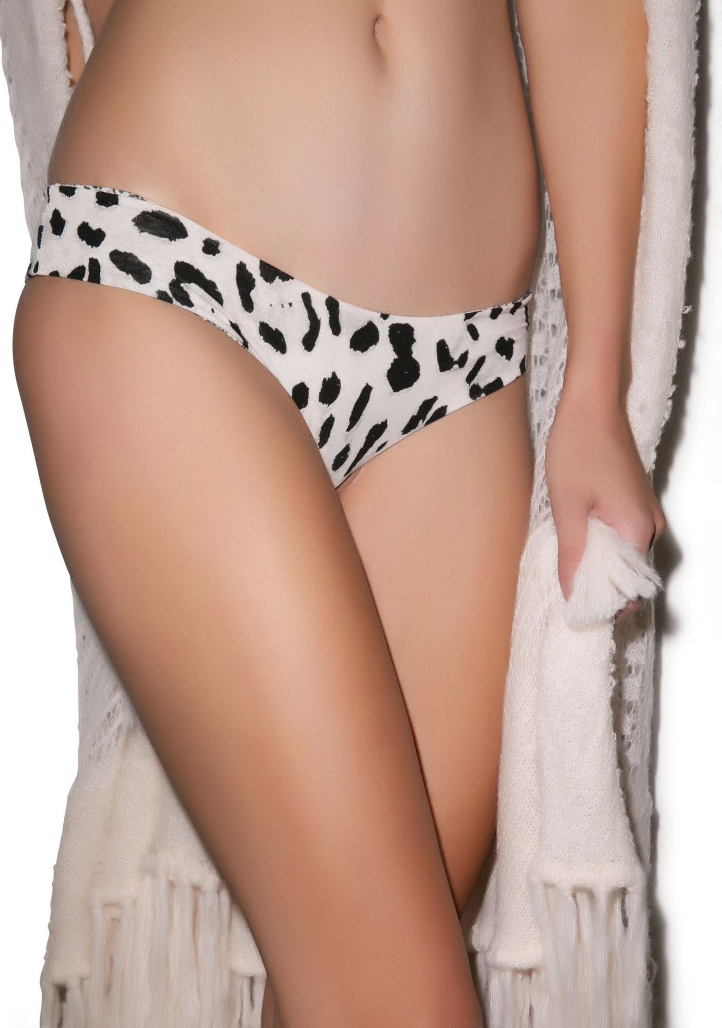 Indah Printed Rayon Lycra Panty