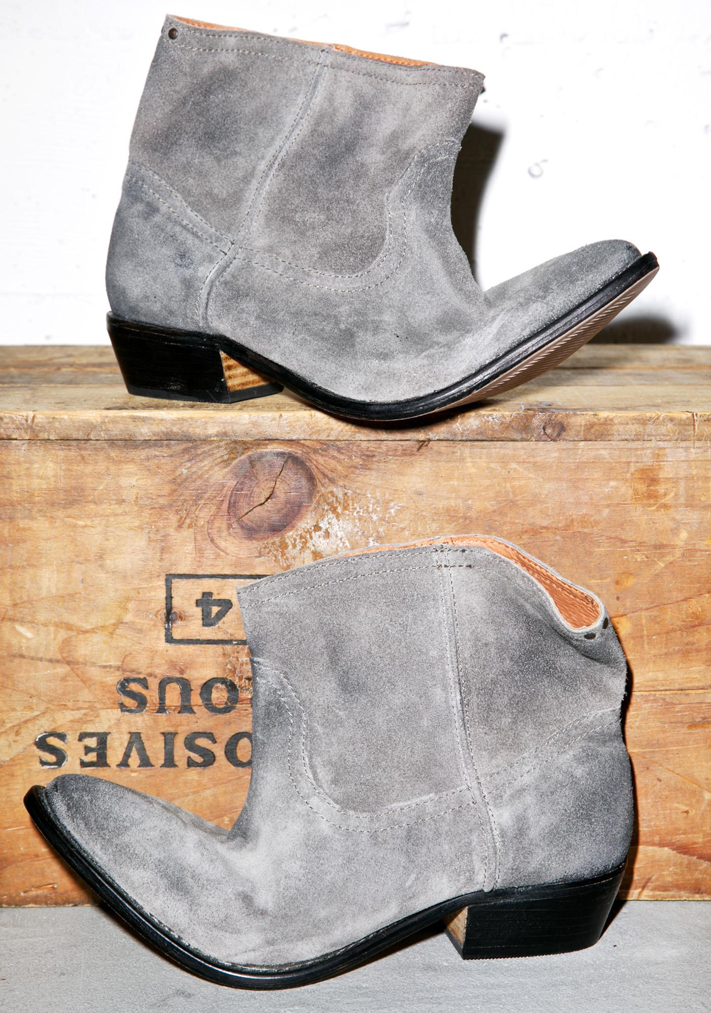 One Teaspoon Le Rebel Suede Bootie
