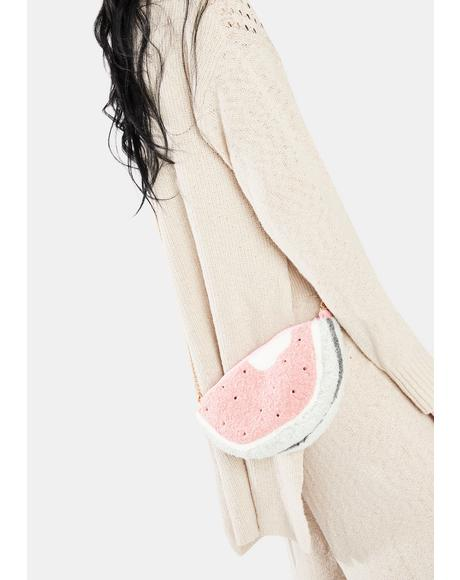 Have A Treat Plush Watermelon Crossbody
